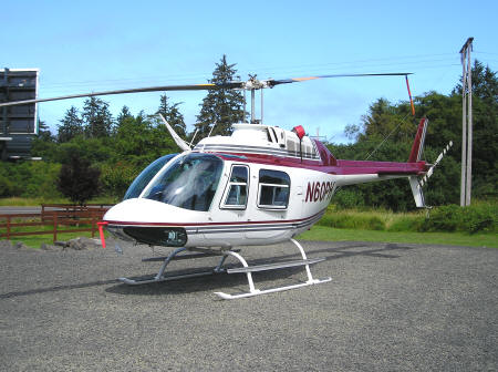 Helicopter Rides in Seaside Oregon