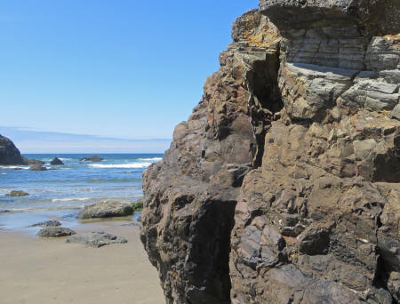 Rock Formation on the Oregon Coast