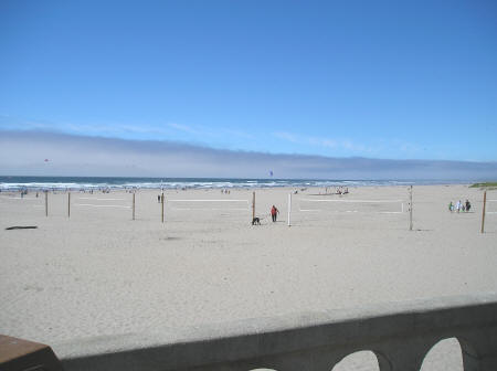 Beach Volleyball in Seaside Oregon